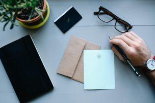 転職書類と添え状